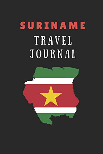 Suriname Travel Journal: 2 in 1 Composition Notebook Combining Lined Writing Paper and Itinerary List Paper