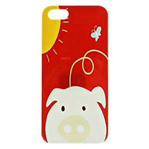 AES - Lovely Pig Pattern Hard Case for iPhone 5/5S
