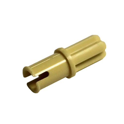 LEGO Parts and Pieces: Technic Tan (Brick Yellow) Axle Pin WITHOUT Friction x200