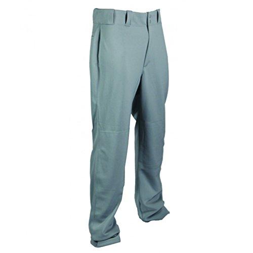 (TAG Adult Relaxed Straight Leg Baseball Pant (Large) Grey)