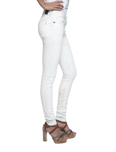 Replay Luz Skinny Fit WX689.000.8035987 - Vaqueros para mujer Grün  (light green) (020)