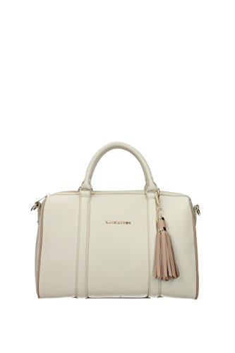 Handbags Beige Leather Lancaster 57248 Women n07RwHqYY