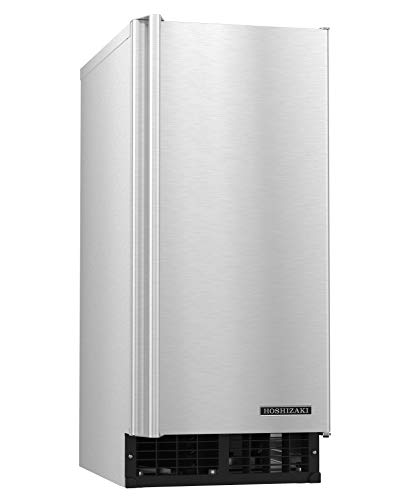 - HOSHIZAKI AM-50BAJ Ice Maker Air-cooled Self Contained Built in 22lb Storage Bin