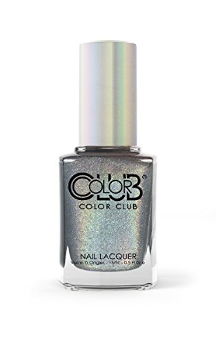 Color Club-BEG, BORROW, AND STEEL from the new Halo Chrome collection