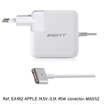 Eightt EA452 Cargador Especifico Magsafe 2 para Apple 45W ...
