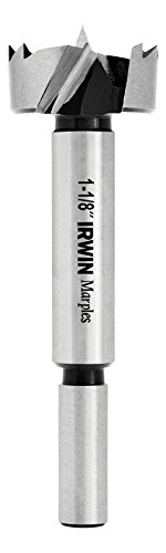Irwin Tools 1966931 Irwin Marples Wood Drilling Forstner Bit, 1-1/8