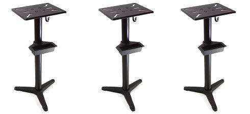 WEN 4288 Cast Iron Bench Grinder Pedestal Stand with Water Pot (3-(Pack))