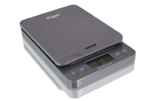 - Saga Mercury Series Universal Postal Scale (76lb, Grey)