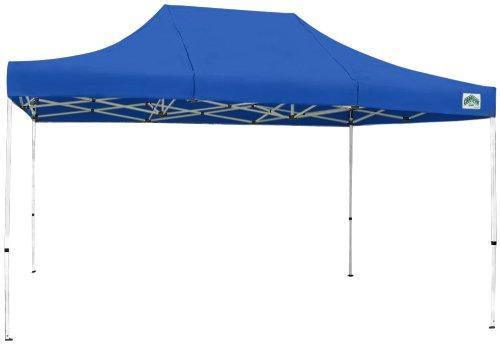 Caravan Canopy 21503105022 10 X 15-Feet Aluma Basic Kit, Blue Canopy, 10x15,