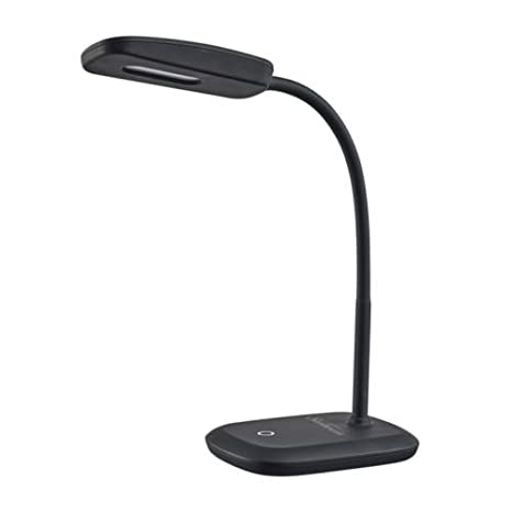 New Sunbeam Flexible Neck Led Desk Lamp Adjustable Light Energy Star Black by Sunbeam