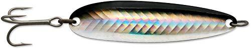 Luhr Jensen Krocodile Treble Hook, 3.3 Inch, 1 oz. -  Black Silver Reflex