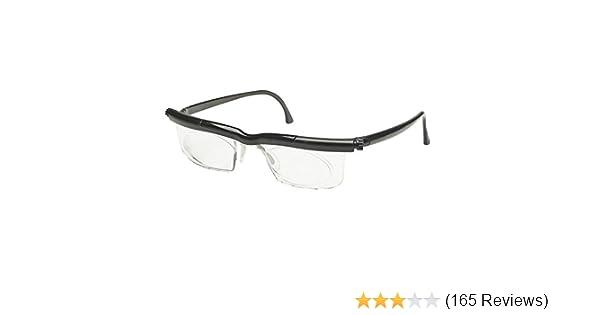 c5117c55e940 Amazon.com: Clear Adlens Adjustable Eyeglasses Variable Focus Select  Instant Prescription The Latest In Variable Power Optics Technology Unisex  Great for ...