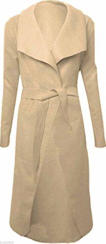 Taille Light Unique Manteau Beige Lime Femme qtfggd