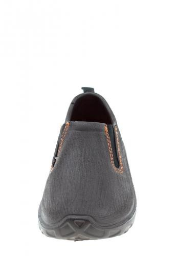 AJS Chaussure Derby marron orange , EVA-Schuh Braun