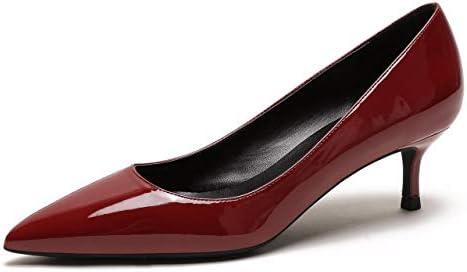 4876ab0bdac6c CAMSSOO Womens Low Heel D'Orsay Slip On Pointed Toe Dress Pumps ...
