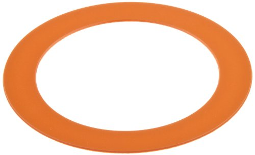 PVC (Polyvinyl Chloride) Round Shim, Coral, 0.030'' Thickness, 1-3/4'' ID, 2-3/4'' OD (Pack of 10) by Small Parts