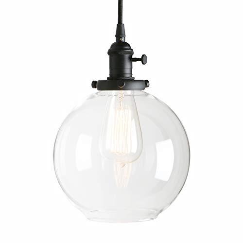 Black Globe Pendant Light in US - 9