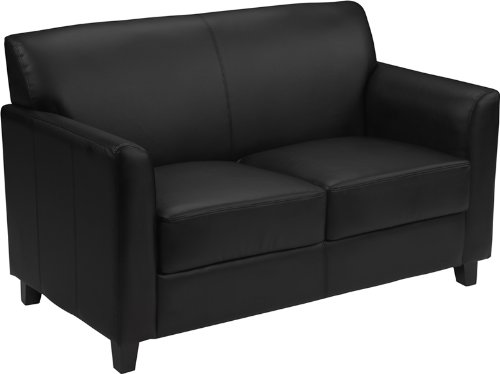 Flash Furniture HERCULES Diplomat Series Black Leather - Theater Collection Seating