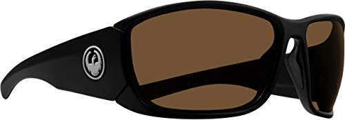 (Sunglasses DRAGON DR TOW IN H 2 O 035 MATTE SHADOW H2O WITH COPPER Polarized LEN)