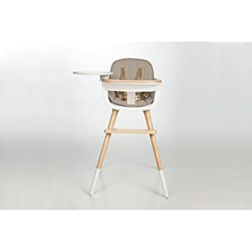 ca1f9e9d3888 Amazon.com   Micuna OVO MAX LUXE High Chair with Seat Fabric in Beige   Baby