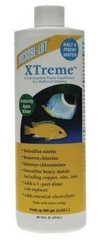 XTREME 16OZ SALT/FRESH WATER, 2 PACK, AQUARIUM, FRESH WATER CONDITIONERS, ECOLOGICAL LABS