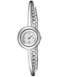 Marc by Marc Jacobs Dinky Donut Silver Dial Stainless Steel Ladies Watch MBM3433