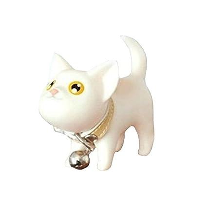 Westeng 1 Pcs Llavero Forma del gatito Plástico Keychain ...