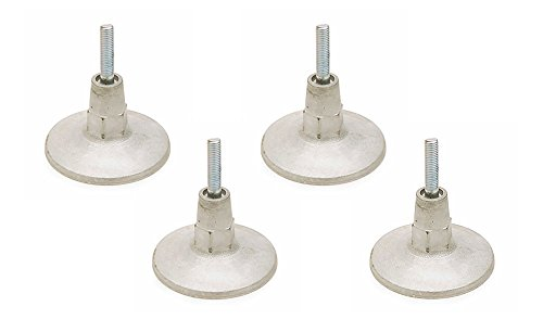 Valley-Dynamo Set of 4 Leg Levelers - Pool Tables & Air Hockey - Foot Hockey Table