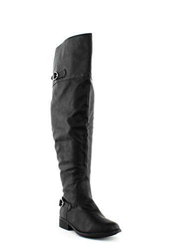 AMERICAN RAG CIE | Adarra Over-The-Knee Boots | Black | 8.5 from AMERICAN RAG CIE