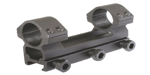 - 30 mm Dia. One-piece Dual Ring scope mount,High Profile with big See-Through, 110 mm/ 4.5