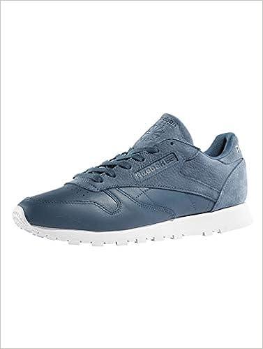 Reebok Damen Schuhe Turnschuhe Classic Leather Sea You Later Blau 40
