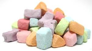 Dehydrated Marshmallows Assorted  40 lb Case by Kraft Foods