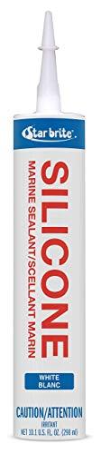 Star brite Marine Silicone Sealant White 10.3 oz (Renewed) ()