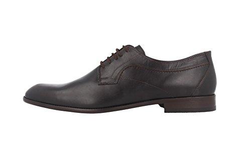FRETZ men Herren Business Schuhe - Tosco - Braun Schuhe in Übergrößen