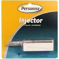 Personna Injector Platinum Chrome 7 Comfort Coated Blades