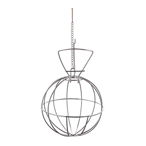 Sizet Hay Ball Hay Feeder for Rabbit Small Animals Hanging Toy Hay Manger Feed ()