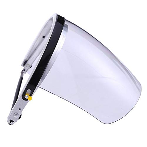 Flameer Welding & Grinding Equipment Eye Face Protection Engineering Plastic Mask - White by Flameer (Image #3)