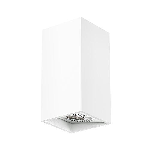 Aplique de pared LED rectangular de 9w Osram, orientable