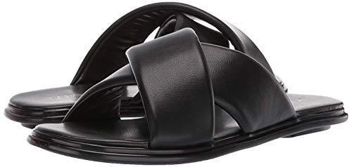 BCBGeneration Women's Eloise Flat Sandal Slipper, Black, 7.5 M US
