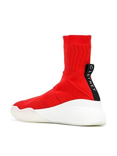 Slip Mccartney Polyamide 534441w1iw16559 Red Women's Stella On Sneakers xRwSfqd
