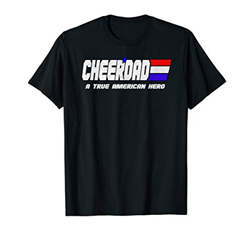 Cheer Dad Shirt For Dad Who Supports Daughter Cheerleader