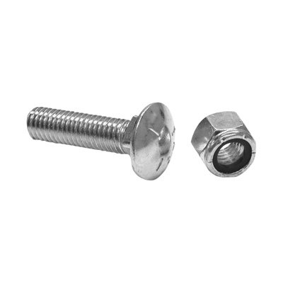 S.A.M. Replacement Cutting Edge Bolt and Nut Kit - For Meyer Snowplow Cutting Edges, Replaces OEM Part# 08318 by SAM