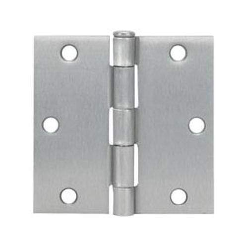 - 12 Pack - Cosmas Satin Nickel Door Hinge 3.5
