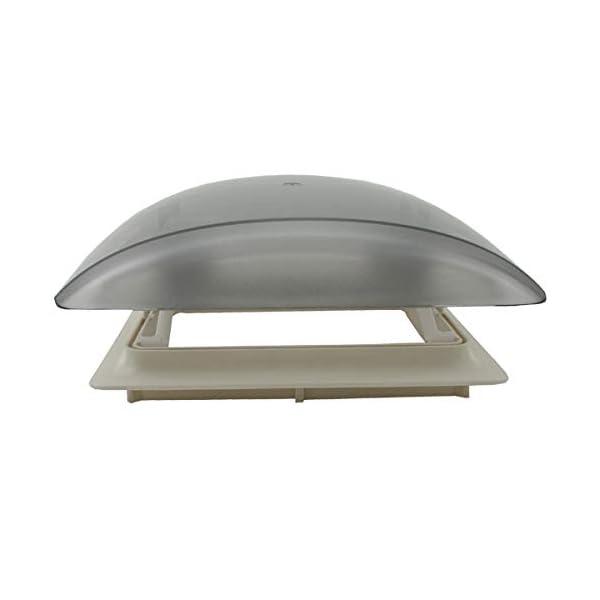31o9O9X4kHL MPK Vision Vent S pro getönte Klarglas Dachluke Dachfenster Dachhaube Doppellplissee Insektenschutz 28 x 28 Wohnwagen…