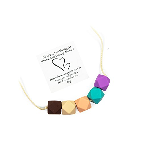 Silicone Teething Necklace Mom Wear product image