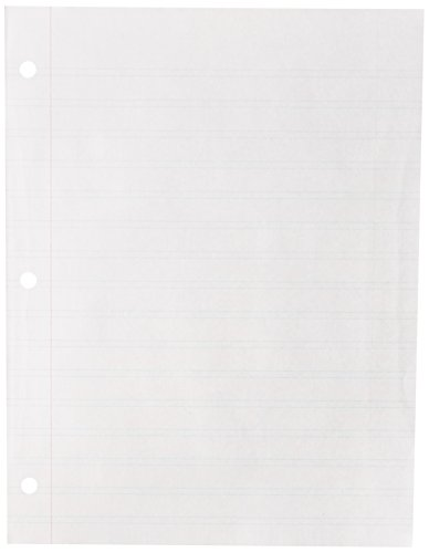 Handwriting Without Tears Paper, Double Line Narrow, Pack of 100 - 017778