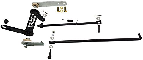 NEW 1955 CHEVY CLUTCH PEDAL LINKAGE KIT WITH BRACKET, CLUTCH CROSS SHAFT Z BAR, CLUTCH FORK ADJUSTING PUSH ROD, SPRINGS, WASHERS, BOLTS