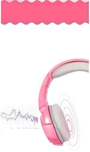 HNSYDS ピンクのゲーミングヘッドセットかわいい女の子ヘッドセット有線コンピュータのヘッドフォン音質のクリアは、快適な通気性を着用してください ゲーミングヘッドセット