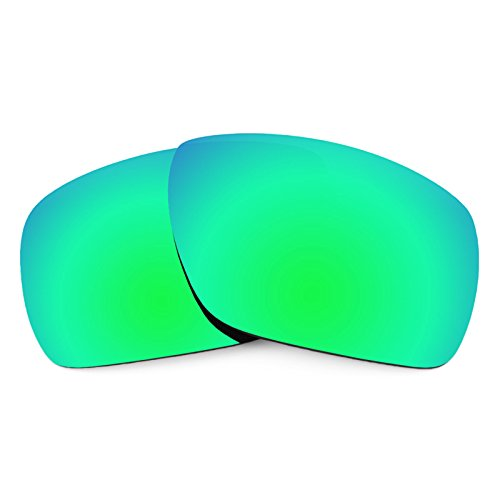 Revant Polarized Replacement Lenses for Oakley Dispatch 1 Emerald Green MirrorShield