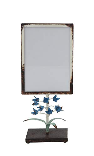 (Creative Co-op Small Distressed Metal Tole Flowers on Stand (Holds 5